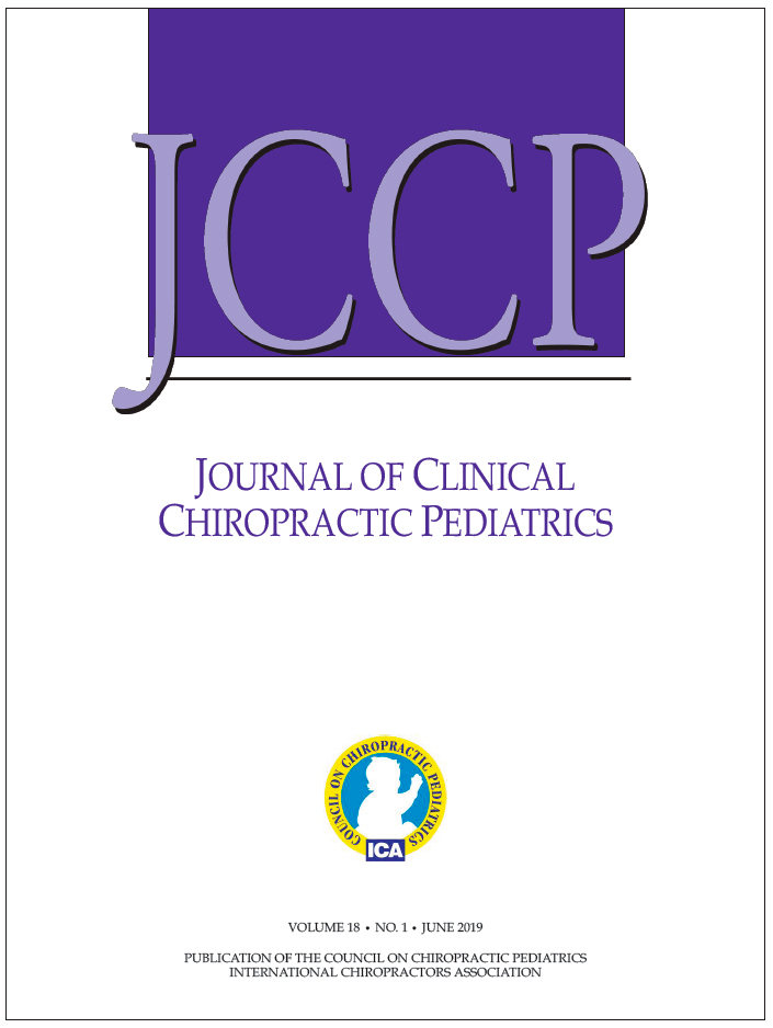 JOURNAL OF CLINICAL CHIROPRACTIC PEDIATRICS